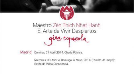 Nos visita por segunda vez Thich Nhat Hanh
